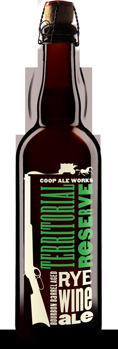 Bourbon Barrel Aged Rye Wine Ale