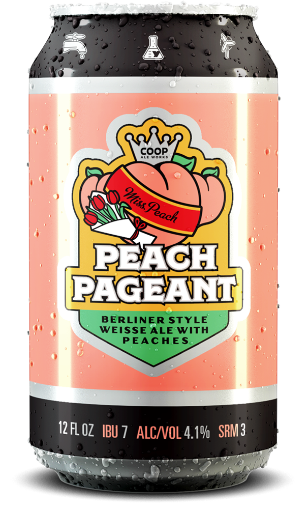 Peach Pageant Berliner Style Weisse Ale